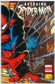 Avenging Spider-man #1 Retail Variant Dynamic Forces Signed Stan Lee DF COA #1 Marvel comic book